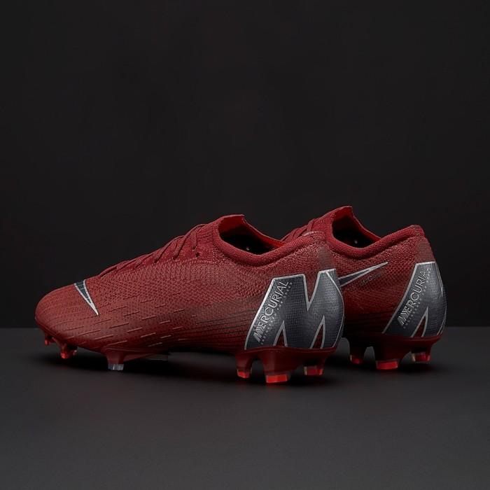 9865e1d4029 Sepatu Bola Nike Mercurial Vapor XII Elite FG - Team Red Metallic D