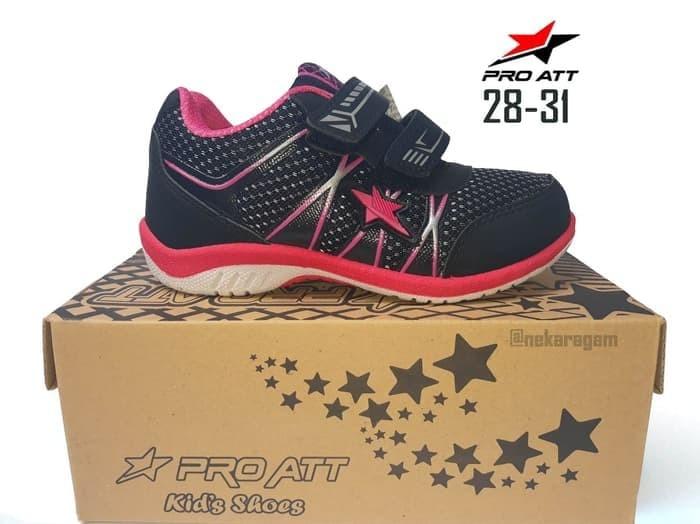 ... harga Sepatu anak pro att kids sport casual sepatu kets sekolah tk sd  28-31 3fab207be3