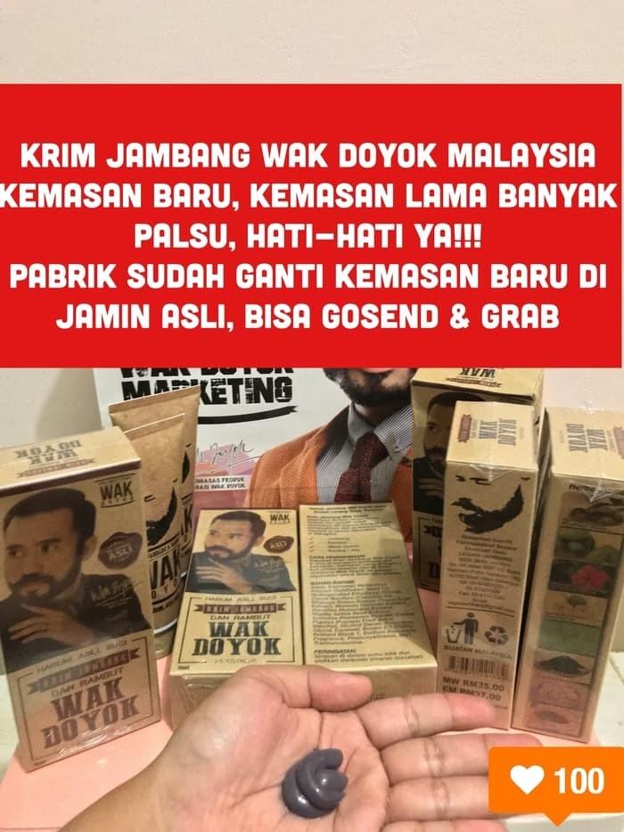harga Krim jambang wak doyok malaysia original cream wakdoyok Tokopedia.com
