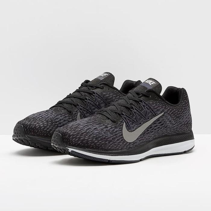 2ae585c5c64e2 Jual Sepatu Lari Original Nike Air Zoom Winflo 5 Black AA7406005 ...