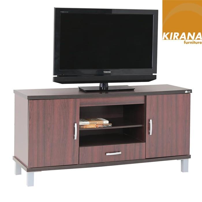 Kirana Furniture - Audio Rack / Rak TV / Meja TV BF 828 DM-Dark
