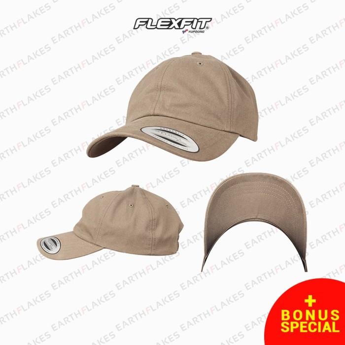 Jual (Free Box + Stiker)Topi Polos Baseball Flexfit Yupoong 6245PT ... f51728048a