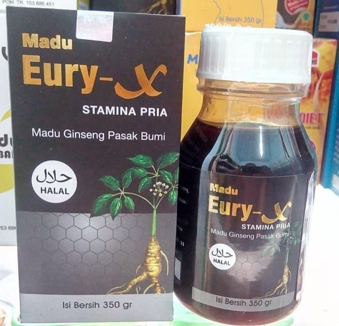 Eury-X Madu Ginseng Pasak-Bumi Penyubur / Subur Pria Al Mabruroh