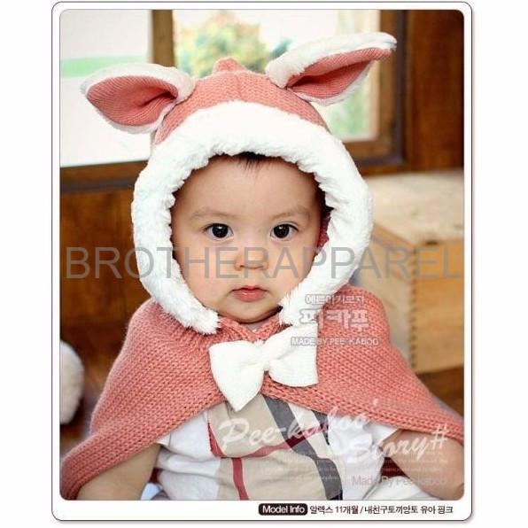 Baju Anak Cewek Murah LOGU Jaket anak jaket kuping kelinci anak jaket
