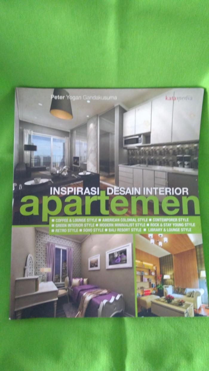 Jual Buku Inspirasi Desain Interior Apartemen Kota Tangerang Selatan Stikerin