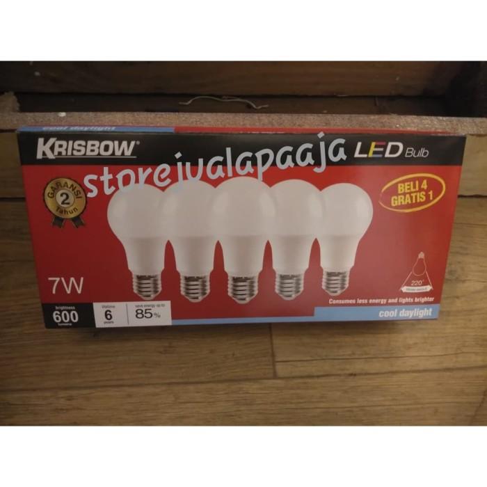 Jual Bohlam Bulb Led Merk Krisbow 7 Watt 1 Pack Isi 5 Pcs Putih Kota Tangerang Store Jual Apa Aja Tokopedia