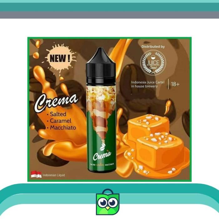 Jual Crema Salted Caramel Macchiato 60ML Premium Liquid Vapor IJC - DKI  Jakarta - Huntsman Shop ID | Tokopedia