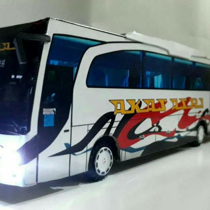 Jual Ready Miniatur Bis Akas Asri Kota Surabaya Miniatur Bis Murah Tokopedia