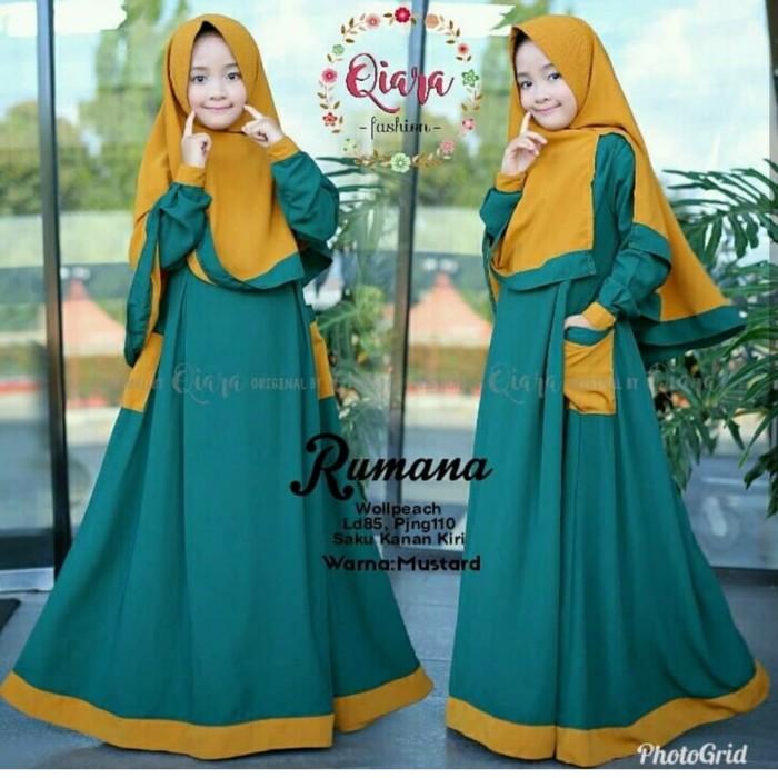 Jual Baju Muslim Anak Syari Perempuan Baju Gamis Anak Wanita Kota Cimahi Grosir Pakaian Muslim Store Tokopedia