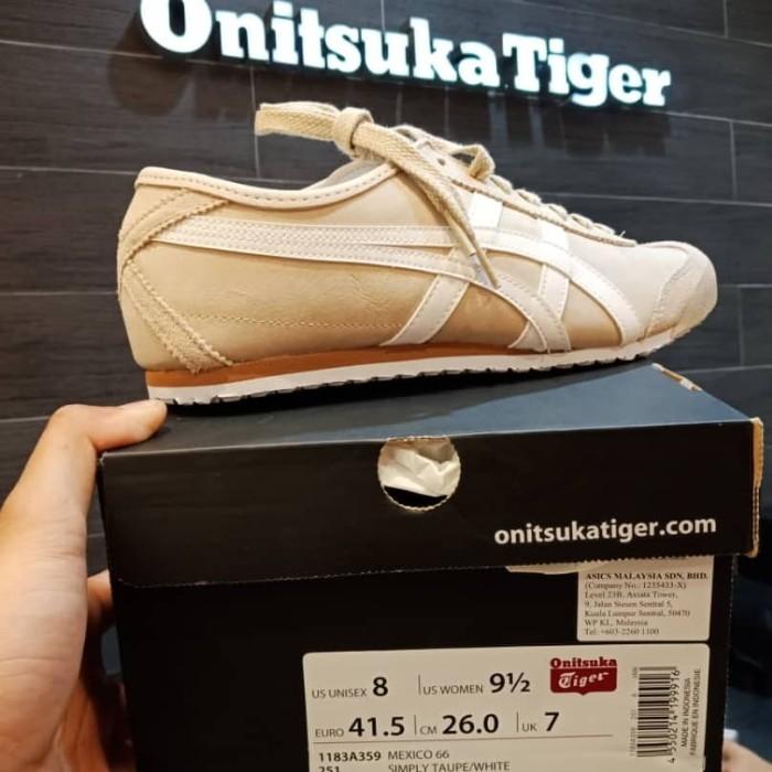 incTokopedia Mexico66 Shopby Taupe Jual Onitsuka Tiger Simply White Barat Jakarta ulcT31JKF