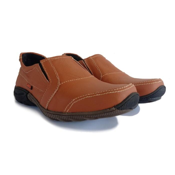 Keren Sepatu Pria Kulit Asli Casual - Anti Licin - Cuzco Berkualitas 5e8c0aed76