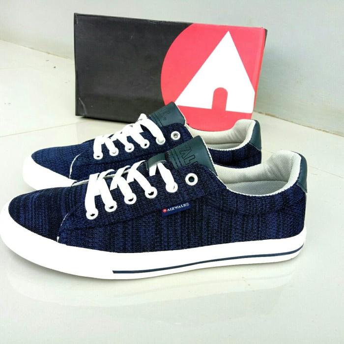 Jual Sepatu Airwalk Evor S Navy Sneakers Pria Original - Denil13 ... d4fbbe1506