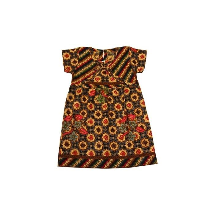 Jual Dress Batik Anak Model Rompi Size M Gaun Batik Terusan Anak Baju Batik Kab Tangerang El Mar Baby Kids Wear Tokopedia