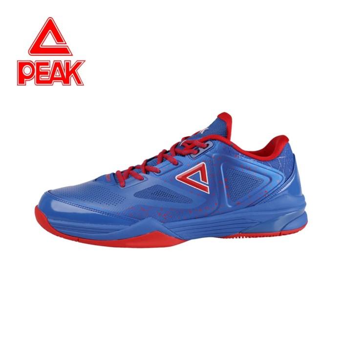 harga Sepatu basket peak nba tony parker 9-iii low chart ori 100% - e61323a - biru 43 Tokopedia.com
