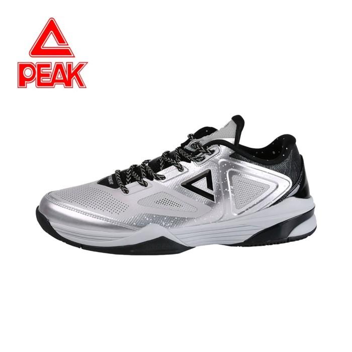 harga Sepatu basket peak nba tony parker 9-iii low chart ori 100% - e61323a - perak 43 Tokopedia.com