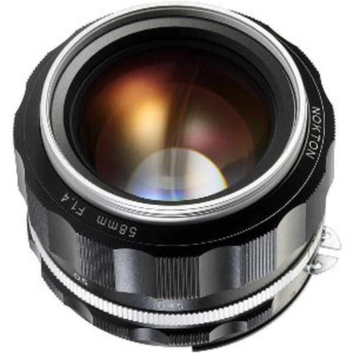 Jual Voigtlander Nokton 58mm f1 4 SL II S Silver for Nikon Mount Limited -  Jakarta Pusat - Dhita Olshopp | Tokopedia