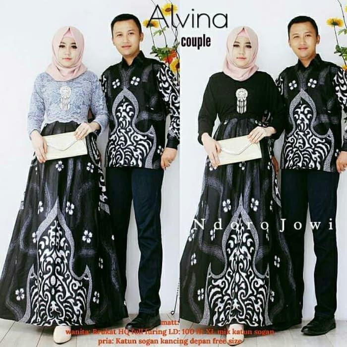 Jual Batik Couple Batik Sarimbit Gamis Brokat Alvina Lengan Panjang Kota Surakarta Anitaolshop Tokopedia