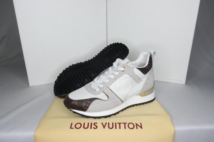 491f25ec78f Jual LV Run Away Sneaker Women White Monogram 36-40 - TokoTasSerbaIndah |  Tokopedia