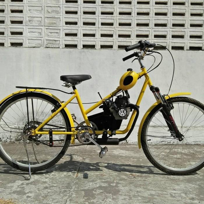 Jual Sepeda Mesin Potong Rumput Model Classic 4 Merah Kab Bantul Fanderle Tokopedia