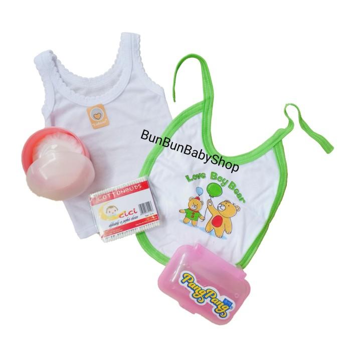 HEMAT 2 PAKET Perlengkapan Bayi Baru Lahir Newborn Peralatan Baju Baby