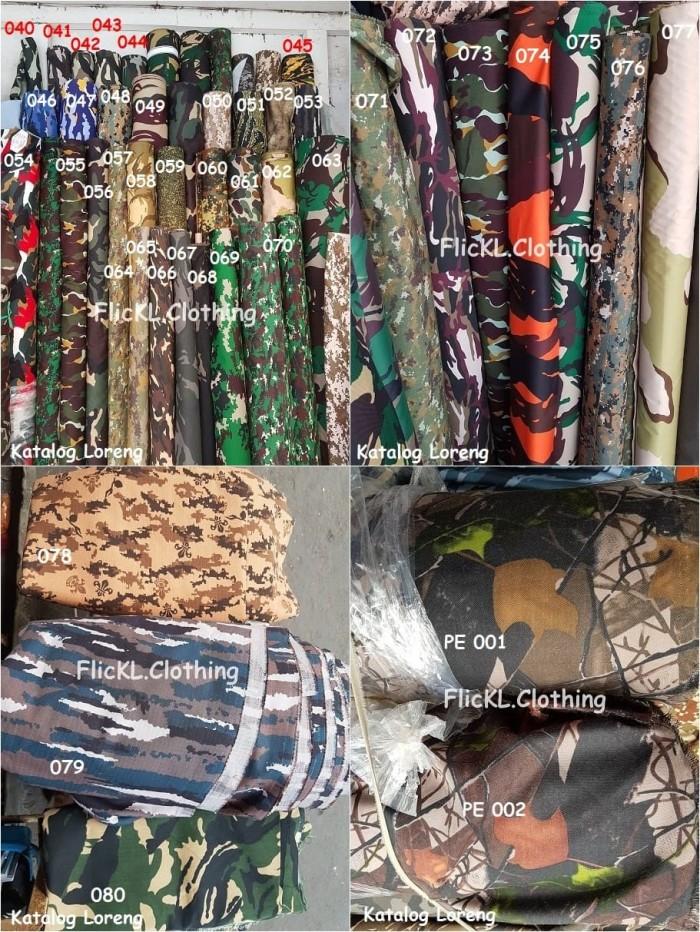 harga Bahan kain loreng camo celana pants cargo pdl twill polos ripstop Tokopedia.com