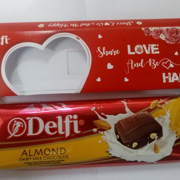 Promo Valentine!Coklat Delfi Rasa Kacang Almond Utk Orang Tersayang Jakarta Timur