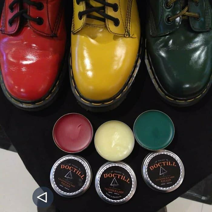 Jual Balsam Semir Sepatu Doctill Leather Care Untuk Bahan Kulit