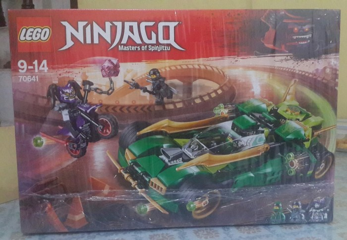 Jual Lego 70641 Ninjago Ninja Nightcrawler Ready Stok Branded