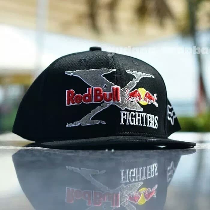 Jual Topi Snapback Redbull X Fighter black import - Markotop ... 35d33ce06a
