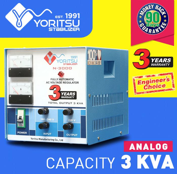 harga Voltage stabilizer yoritsu digital 3 kva 1phase Tokopedia.com