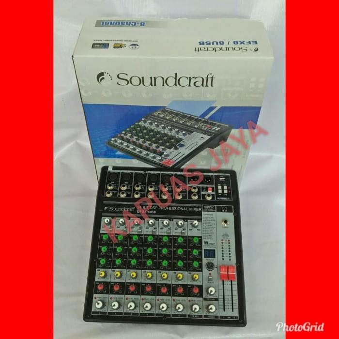 harga Mixer audio soundcraft efx 8/8 usb 99dsp Tokopedia.com