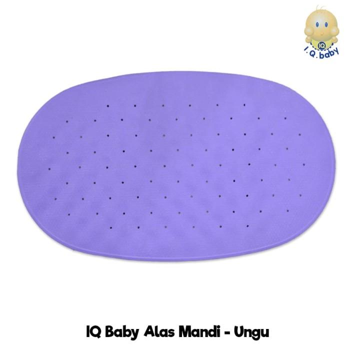 Alas, Karpet, Anti slip Bak Mandi Bayi, IQ Baby Alas Mandi, Alas Mandi - Ungu