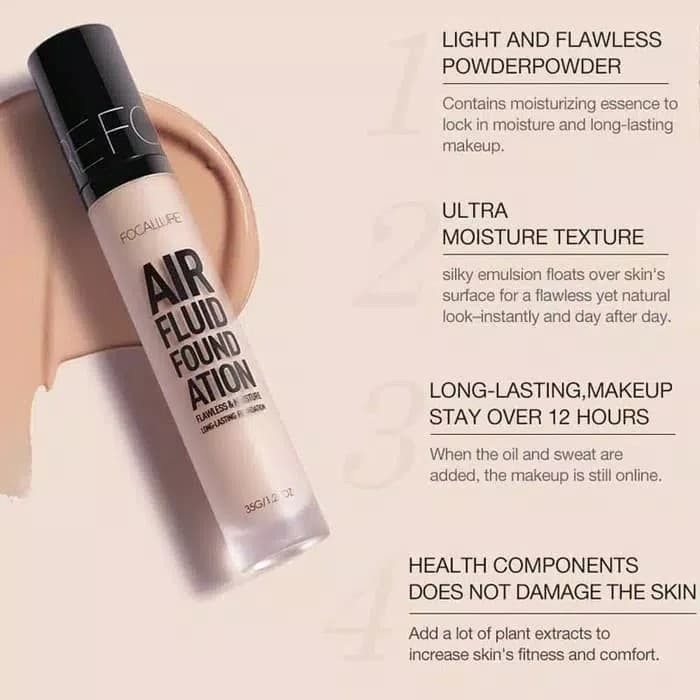 FOCALLURE Air Fluid Foundation Share In Jar