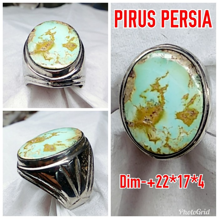 harga Natural batu akik pirus persia/ cincin mewah alpaka super Tokopedia.com
