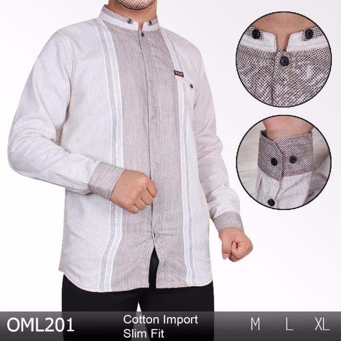 Jual Terbaru Baju Koko Lengan Panjang Baju Muslim Pria Kemeja Koko Murah J Kab Bandung Vian Collection45 Tokopedia