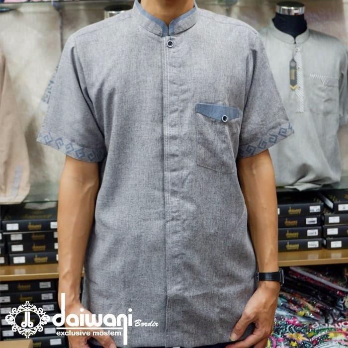 Jual Model Baru Baju Koko Pria Elegan Motif Terbaru Kemeja Koko Lengan Pen Kab Bandung Vian Collection45 Tokopedia