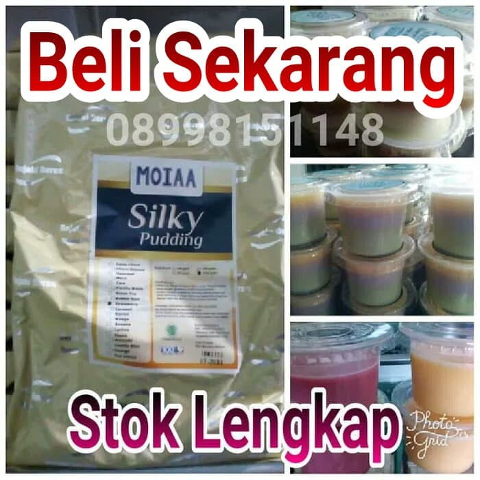 Foto Produk Powder Pudding Silky Pudding MOIAA 1000gr Laris dari Toko Buku 21