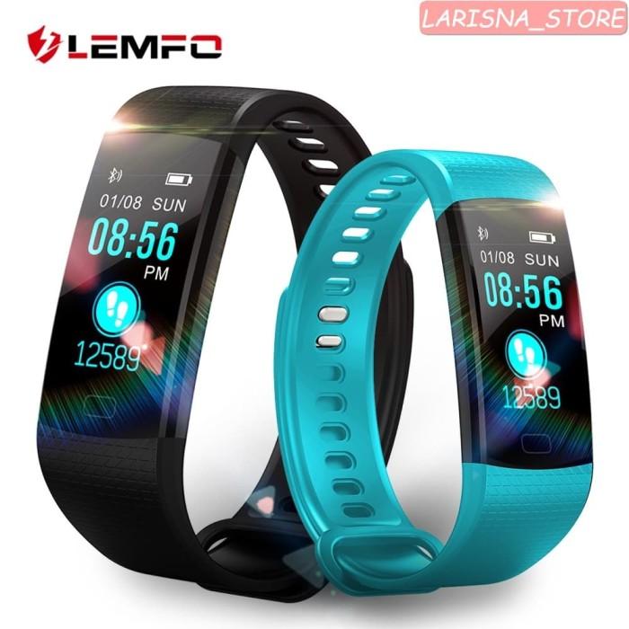 Jual LEMFO Cerdas Menonton Kebugaran Gelang Heart Rate Monitor IP67 ... da68f6f48f