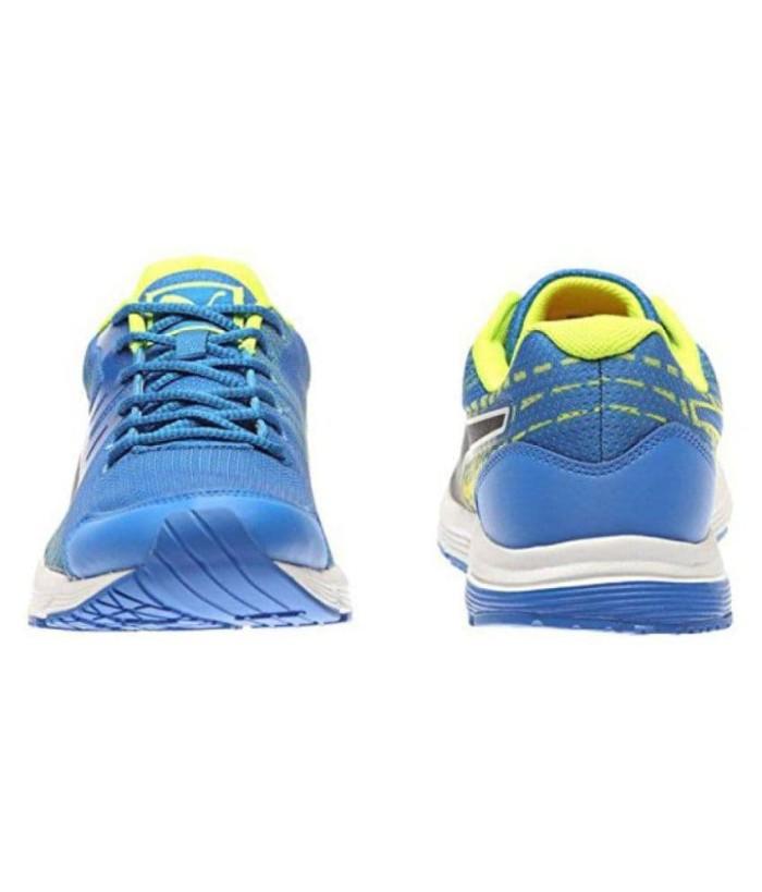 Puma Sequence V2 Men Running Shoes (Sepatu Lari Pria) Blue Lemon BNIB -  Biru 77cc8843af