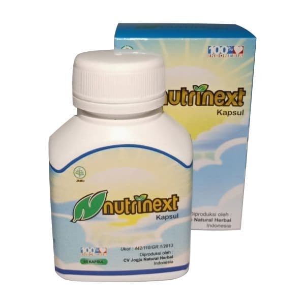 Foto Produk Obat untuk Perawatan Penyakit Batu Ginjal - Nutrinext Kapsul Herbal dari ti Tasik Com