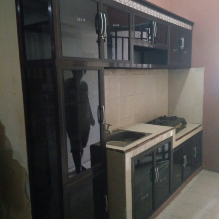 Jual Kitchen Set Minimalis Dapur Aluminium Anti Rayap Dan Anti