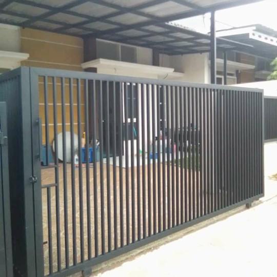 Jual Pagar Besi Dorong Berkualitas Kota Tangerang Selatan