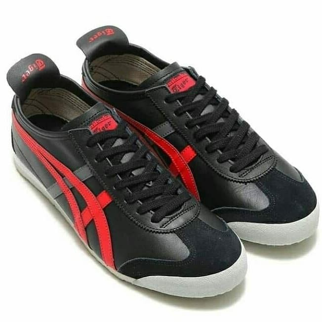 onitsuka tiger mexico 66 black red off