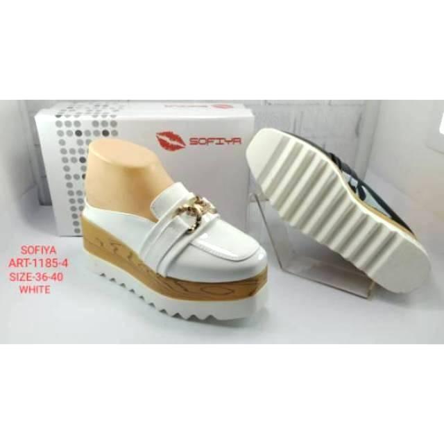 Jual Sandal Sepatu Wedges Import Wanita Sofiya 1185 4 Kota Batam