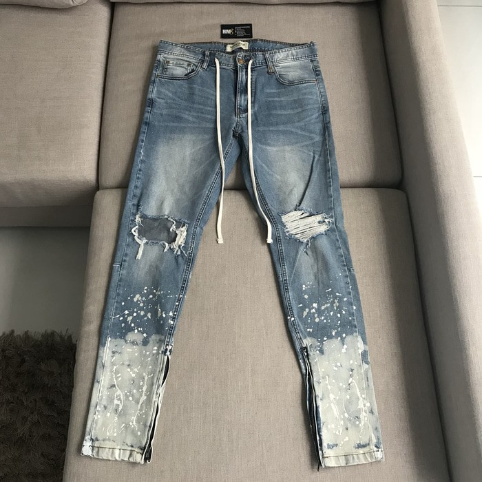 f3f852db Jual Hyperdenim Flame Nate Zipper Jeans Light Blue BNWT - Denis ...