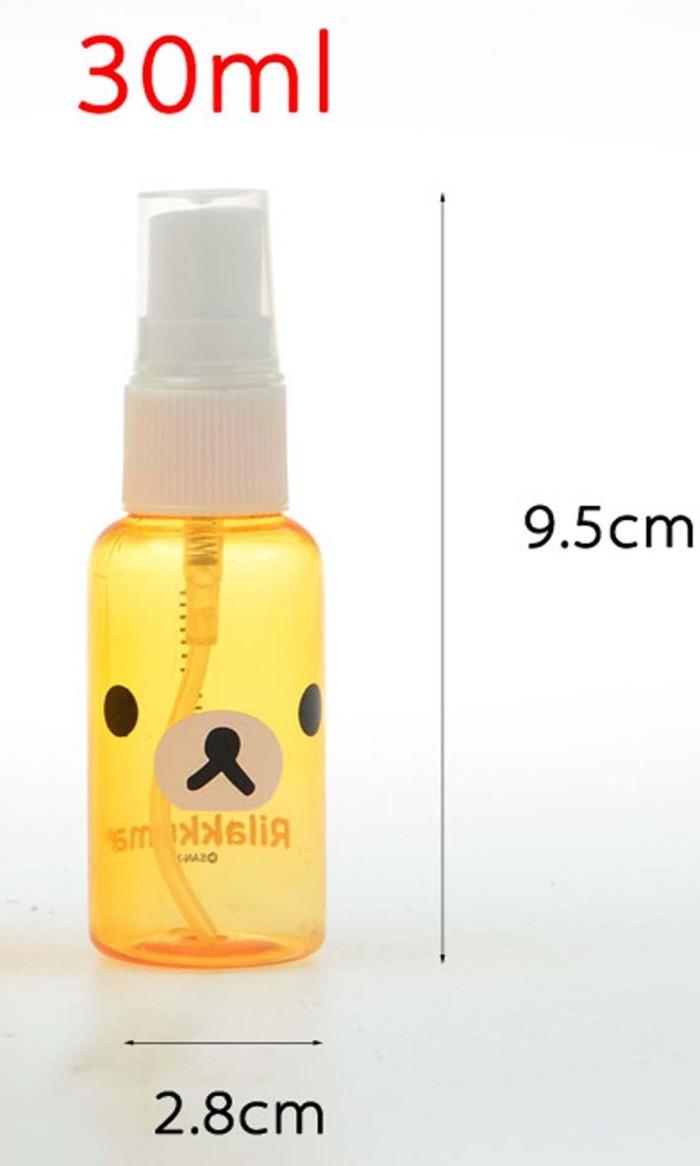 Jual Hsa008 Botol Spray Kartun Rilakkuma 30 Ml Di Lapak Kami Kab Gresik Faridasut Toko