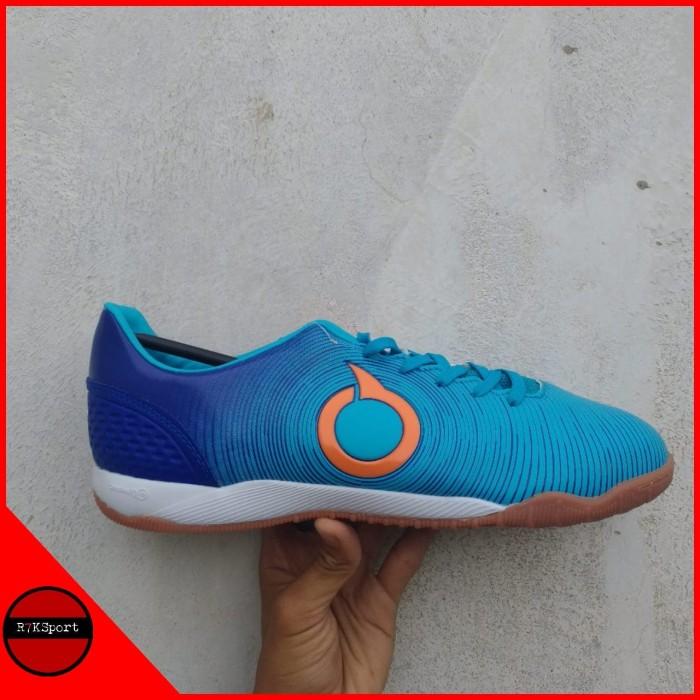 Jual Sepatu Futsal Ortuseight Catalyst Oracle In Pale Cyan