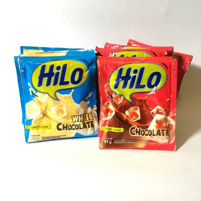 Jual Susu Hilo White Chocolate And Chocolate 14gr Tinggi Kalsium Kota Surabaya Easy Supermarket Tokopedia