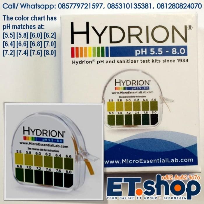Foto Produk Hydrion 067 pH Paper - Kertas Uji pH 5.5-8.0 - Urine and Saliva Test dari ERDUA Business