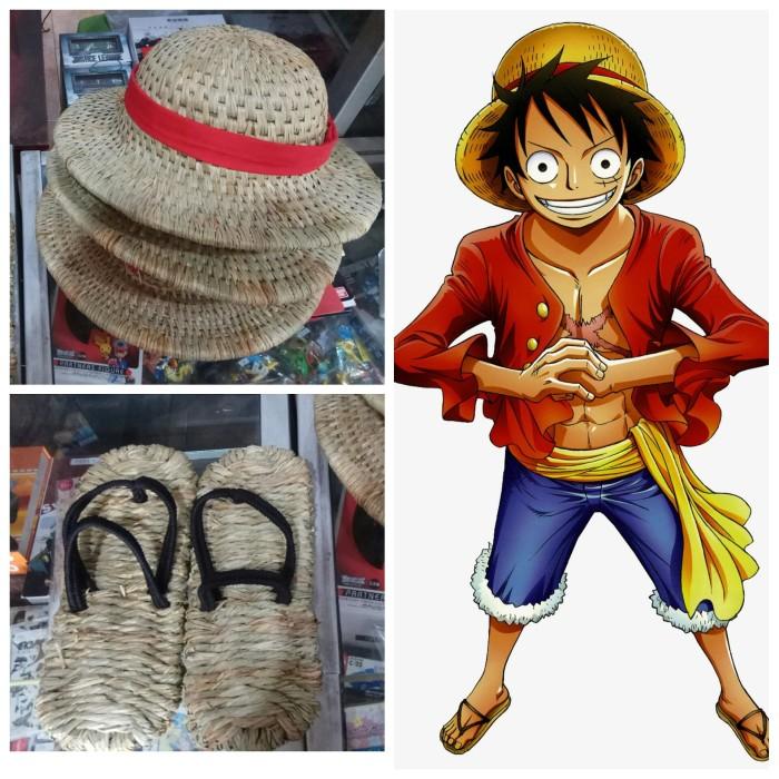 Jual Sandal Topi Jerami Monkey D Luffy One Piece Kota Yogyakarta Extalia Hobbies Tokopedia